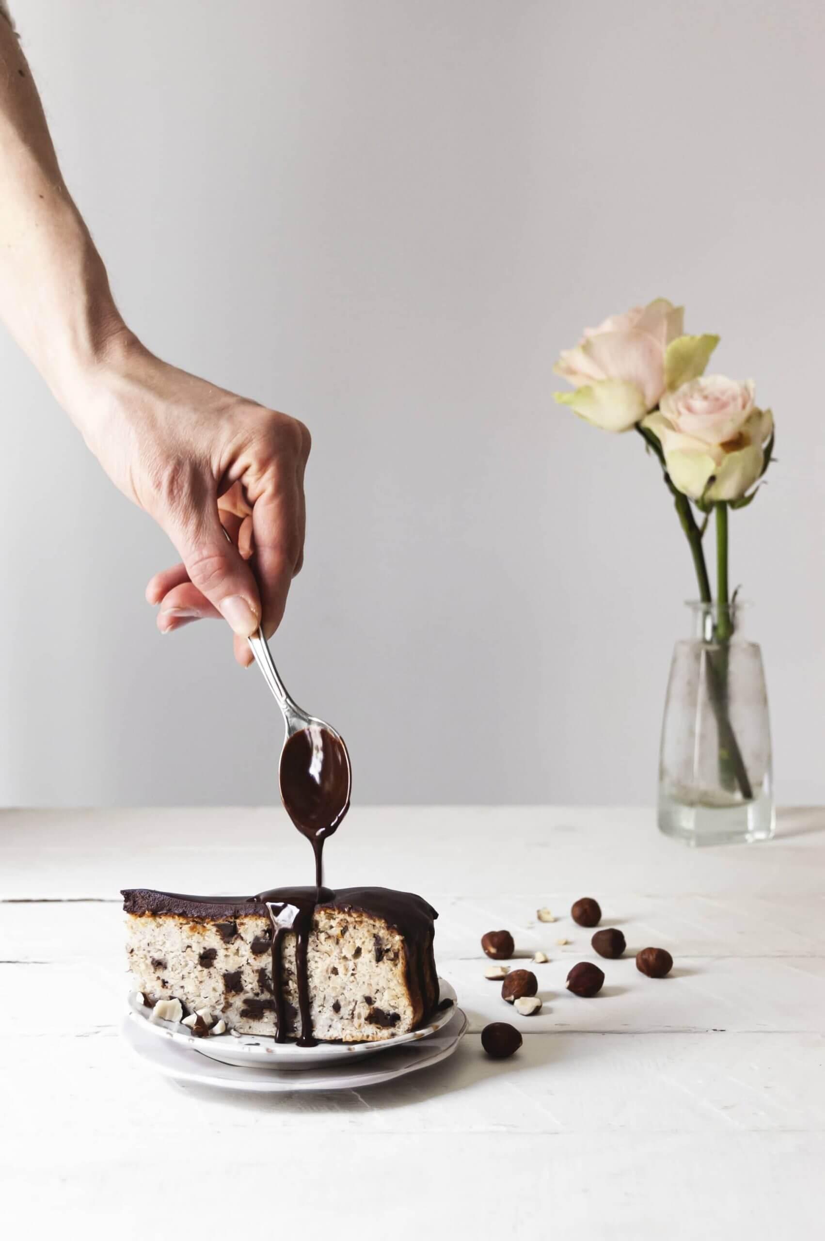 como hacer ganache de chocolate con agua