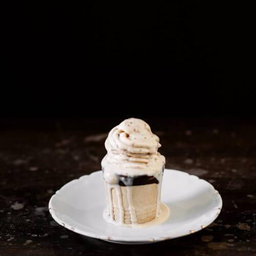 como hacer helado de turron sin heladera