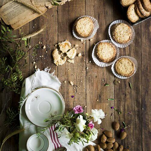 como hacer galleta de almendra