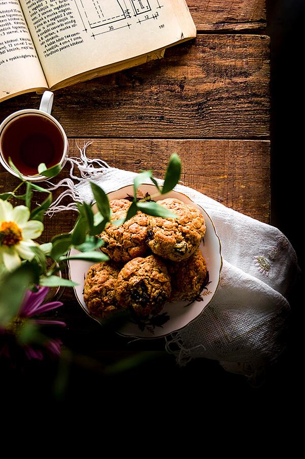 como hacer galleta integral con ciruela