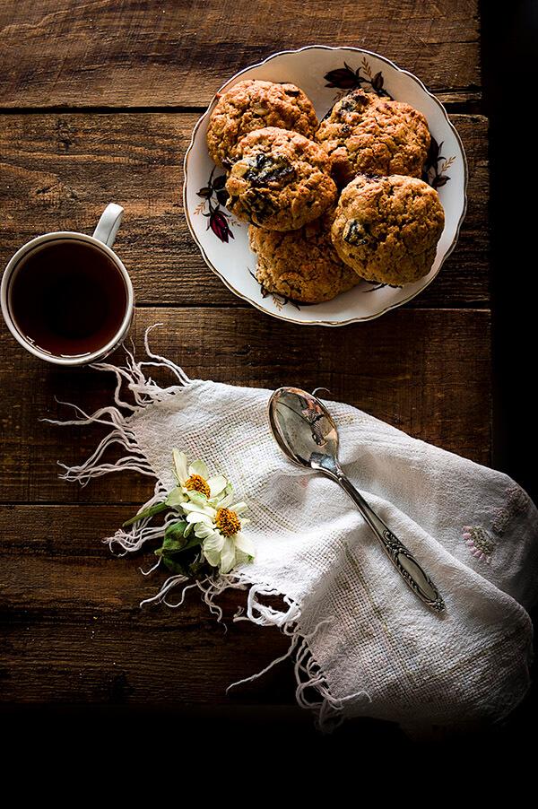 como hacer galleta integral con ciruela para desayunar
