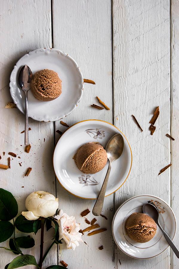como hacer helado de canela sin heladera