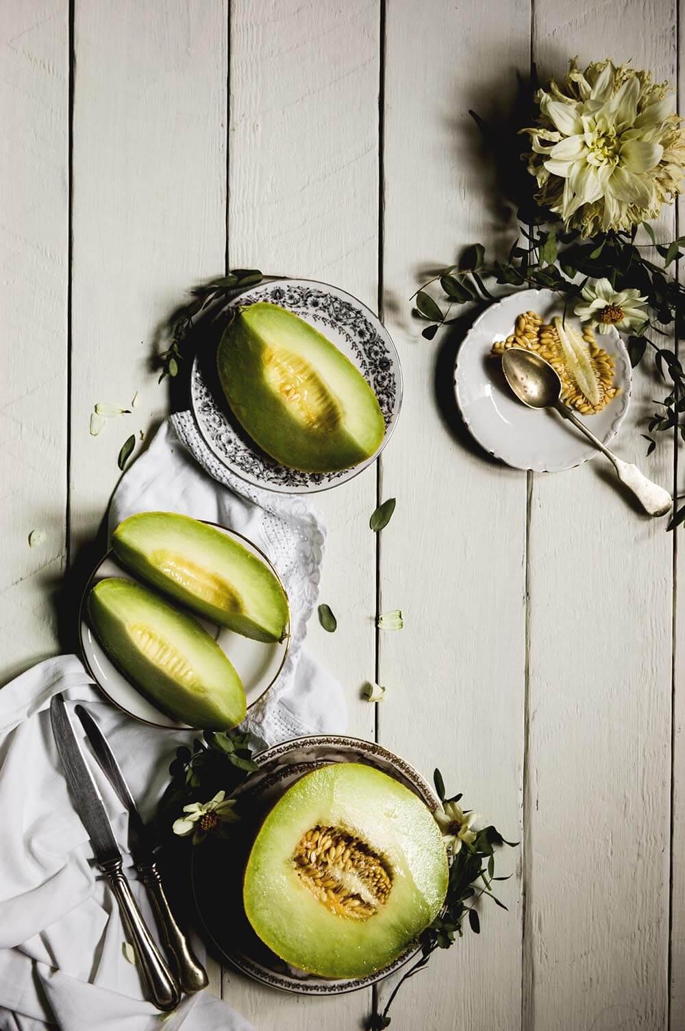 fotografia de  melon galia