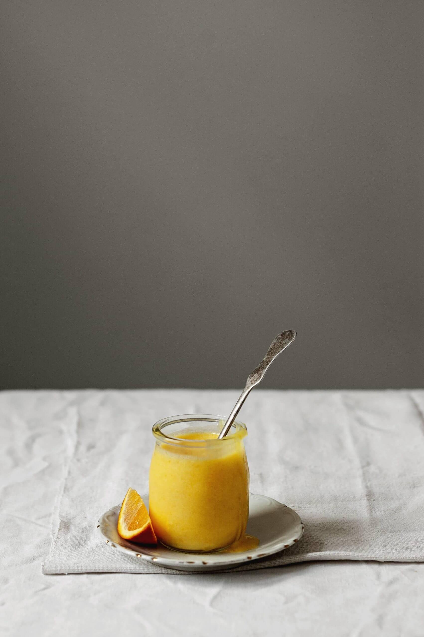 como hacer orange curd casero