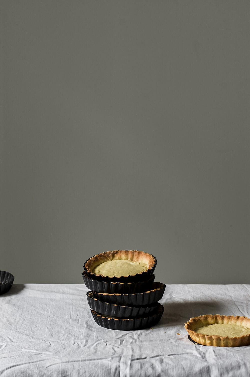 fotografia de pasta sucree