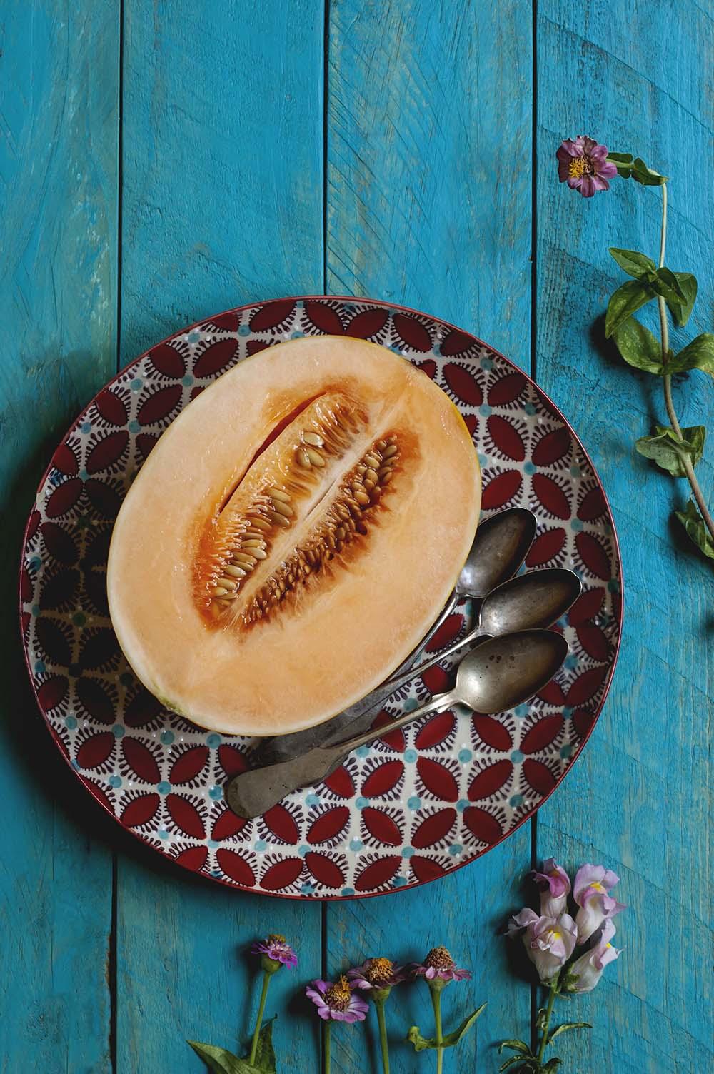 fotografia de sugar melon