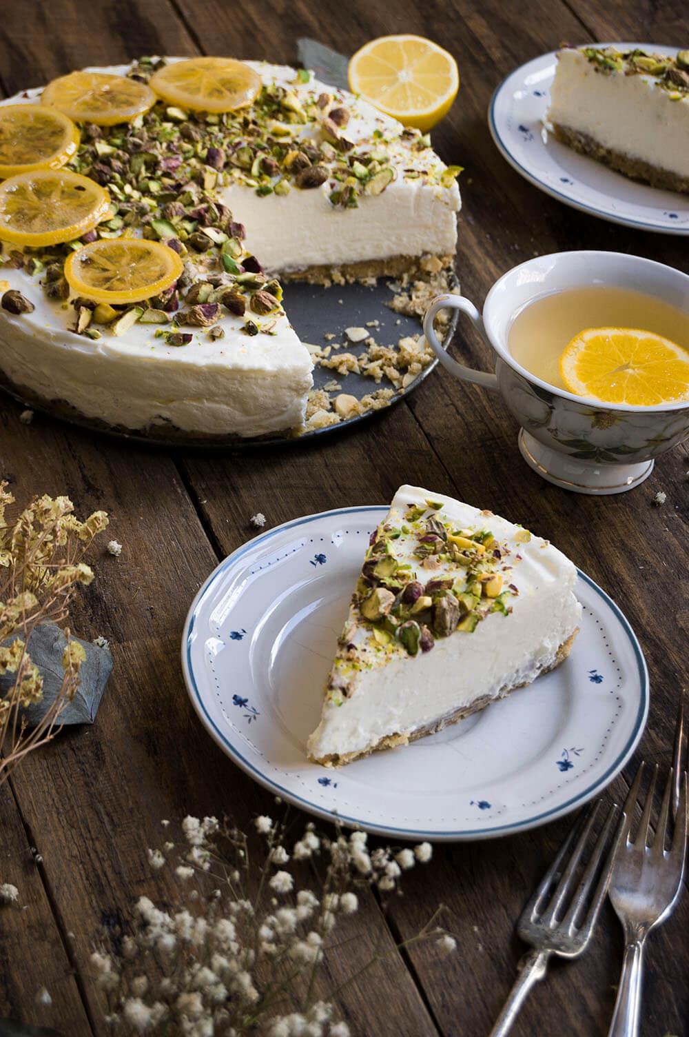 como hacer cheesecake con tres frutos secos sin horno