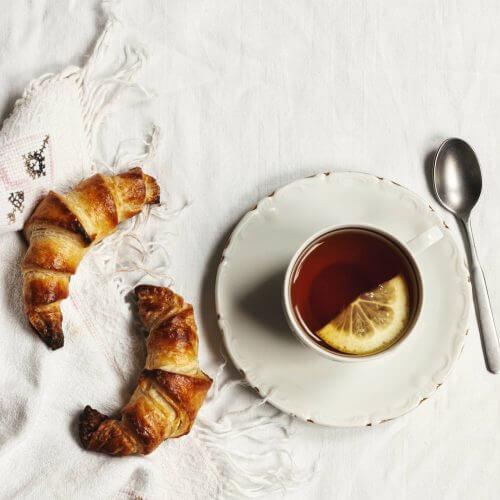 como hacer croissant mini