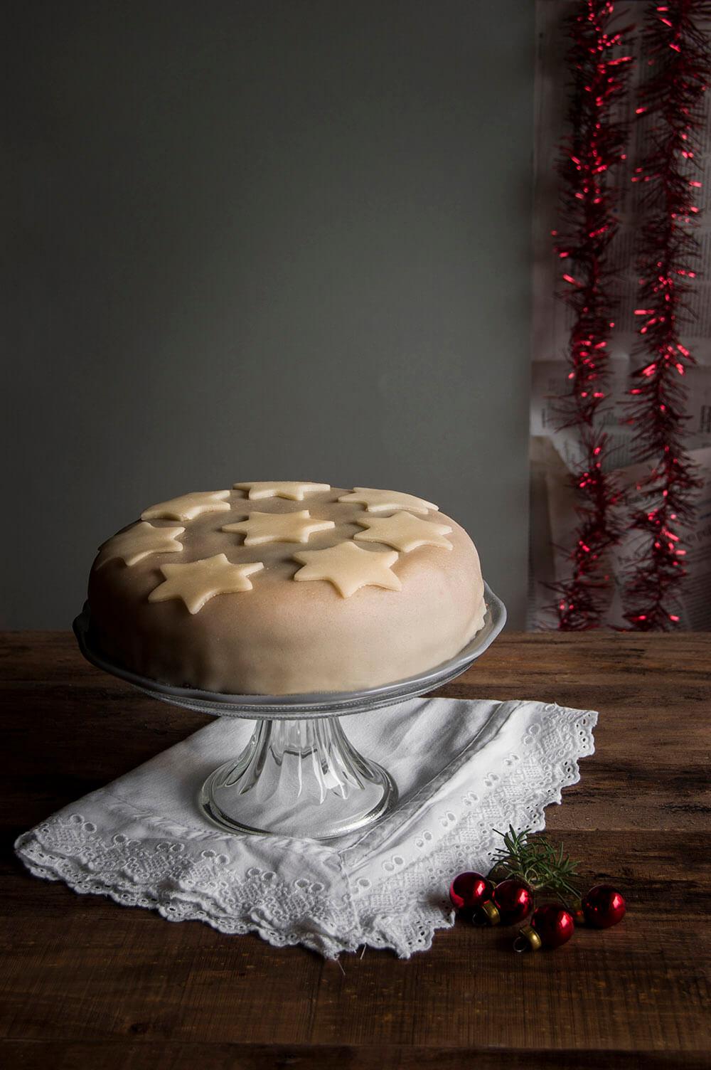 layer cake de manzana con canela
