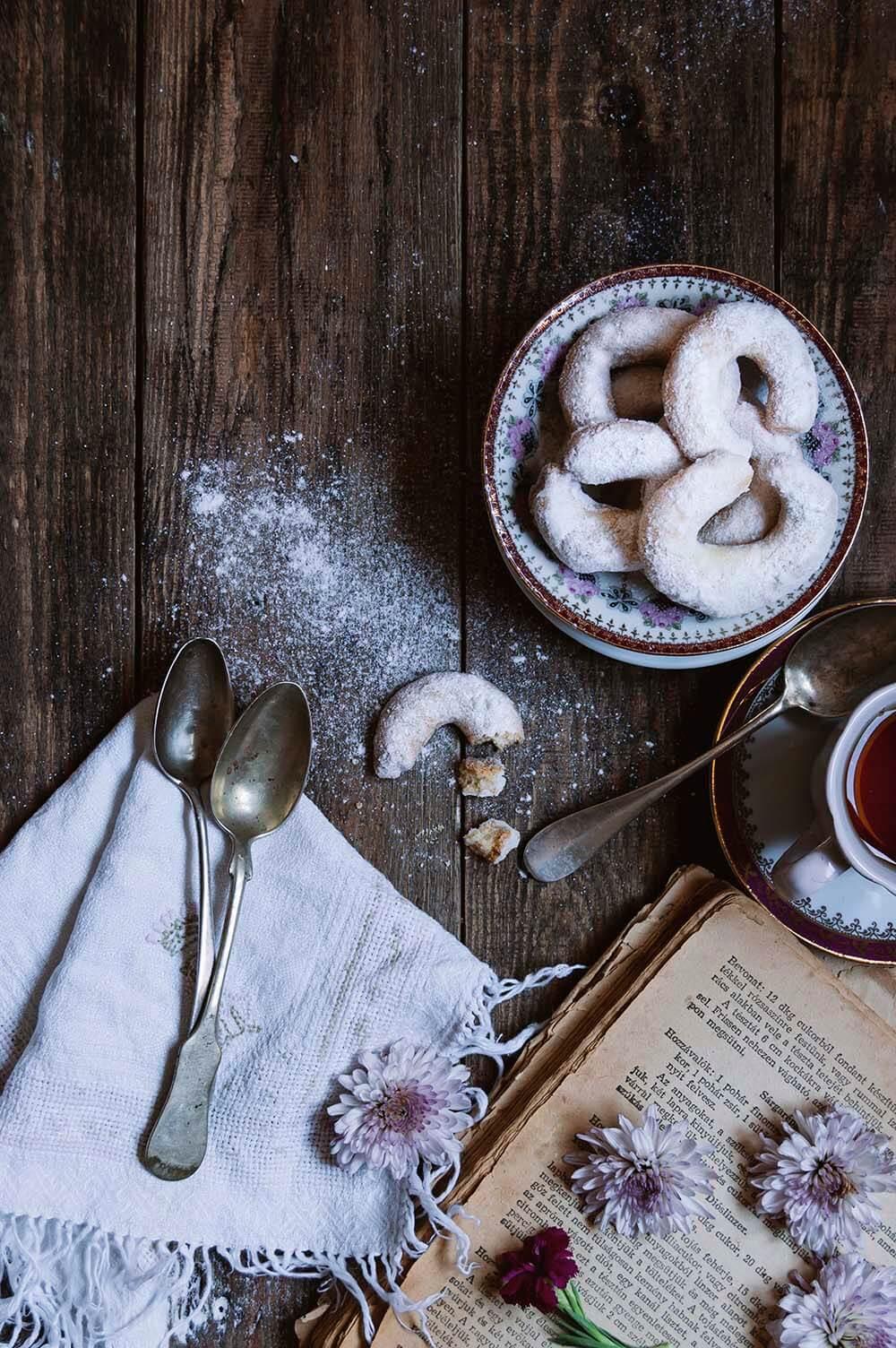 receta de vanillekipferl