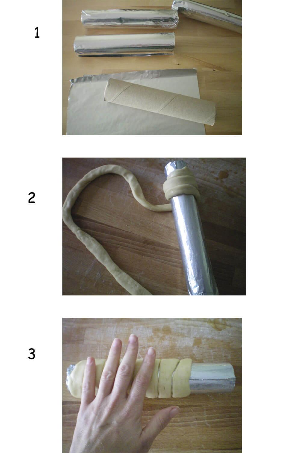 como hacer kürtöskalacs en casa