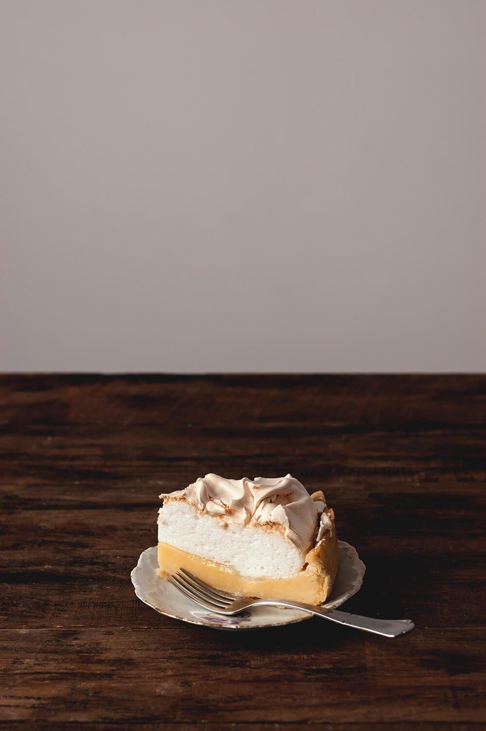 como hacer tarta de limon con merengue