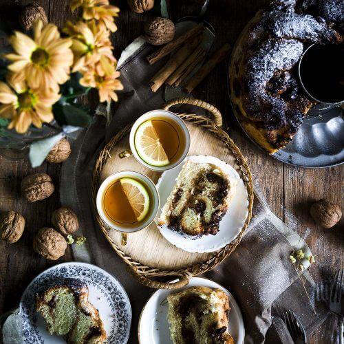 como hacer babka con nueces y ciruelas pasas