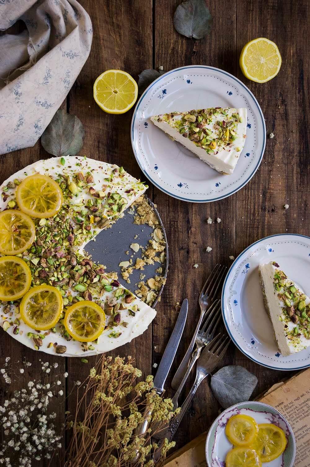 como hacer cheesecake con tres frutos secos