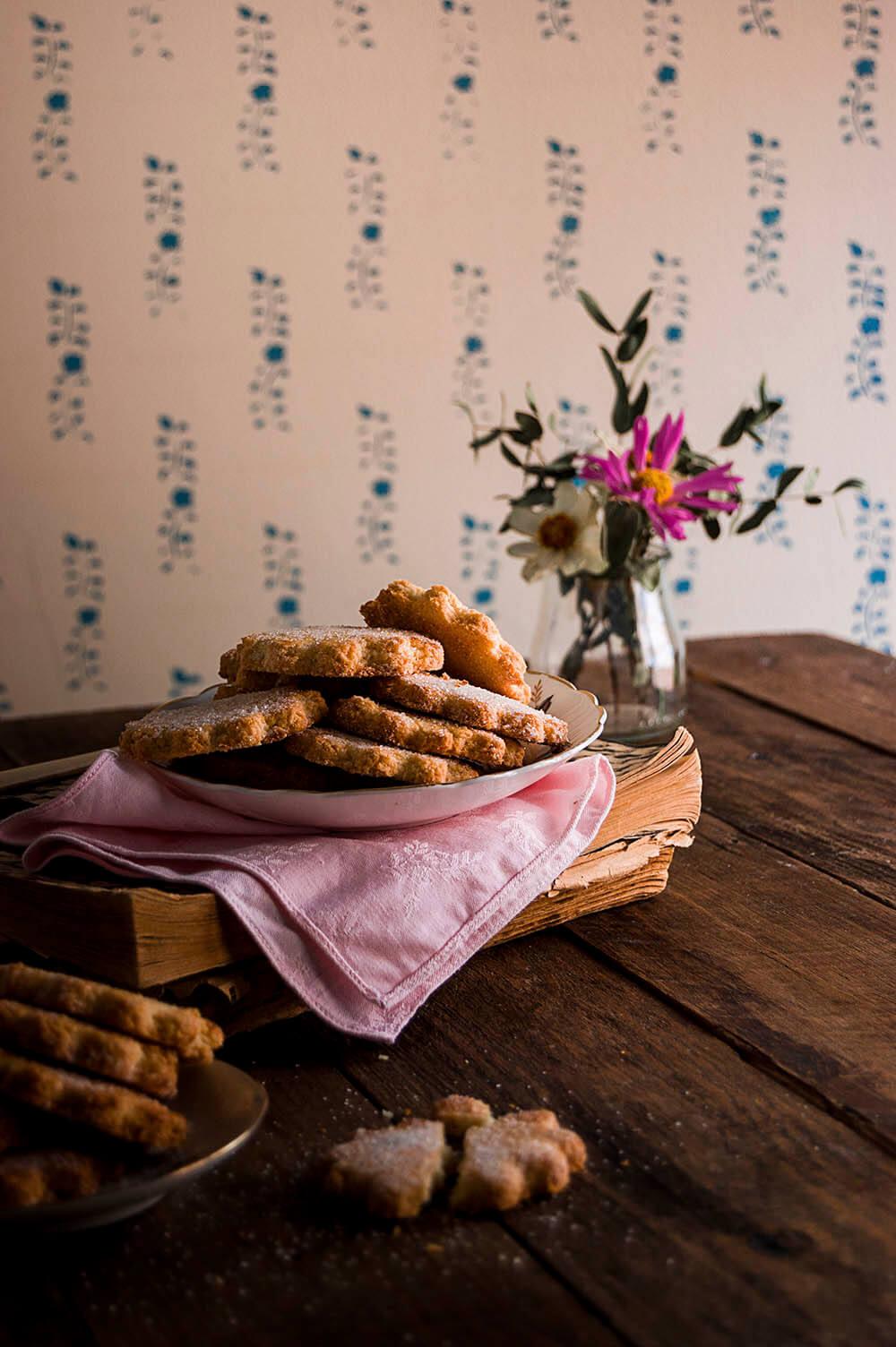 como hacer galleta de coco