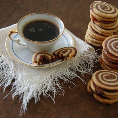 galletas de caracol