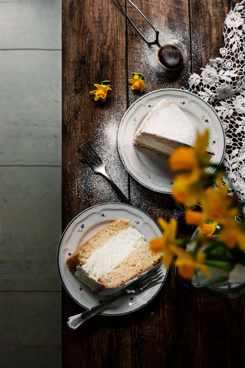 como hacer käse sahne torte