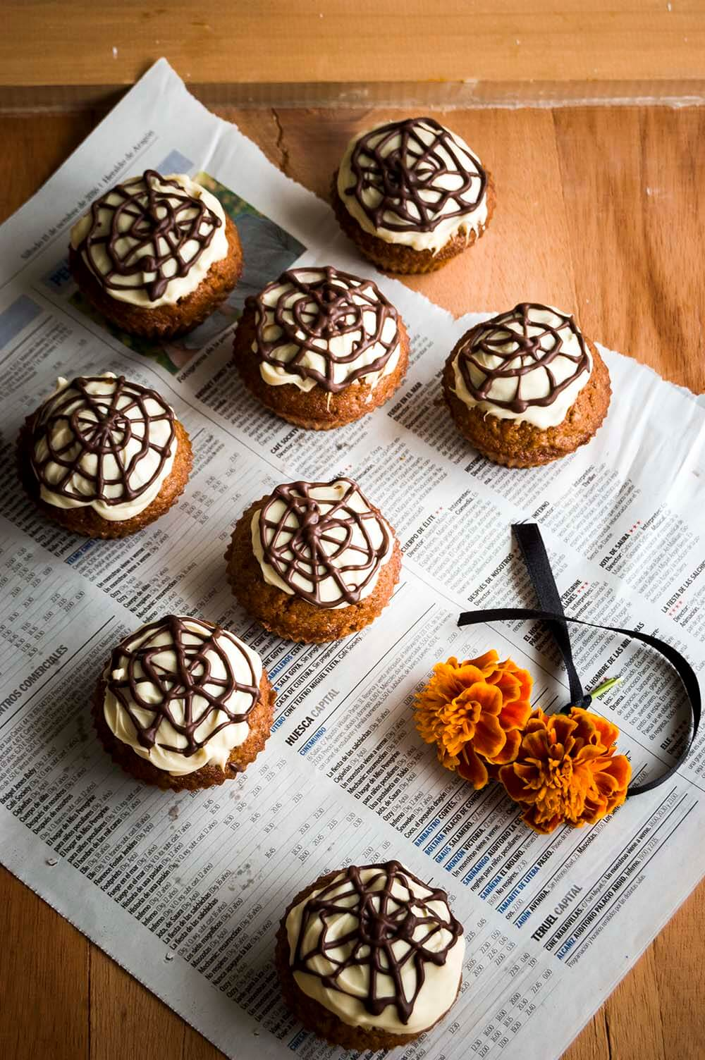 muffin de calabaza