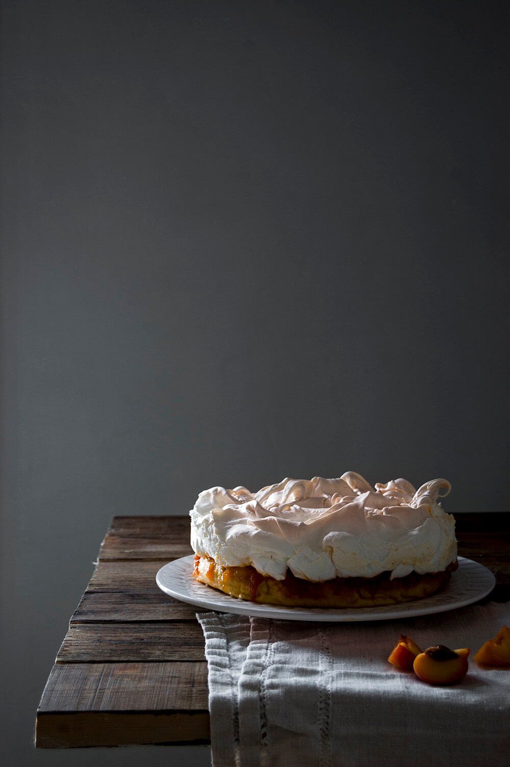 como hacer tarta de merengue y mermelada