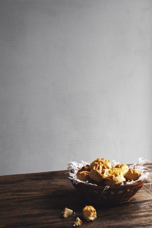 Panecillo con mantequilla
