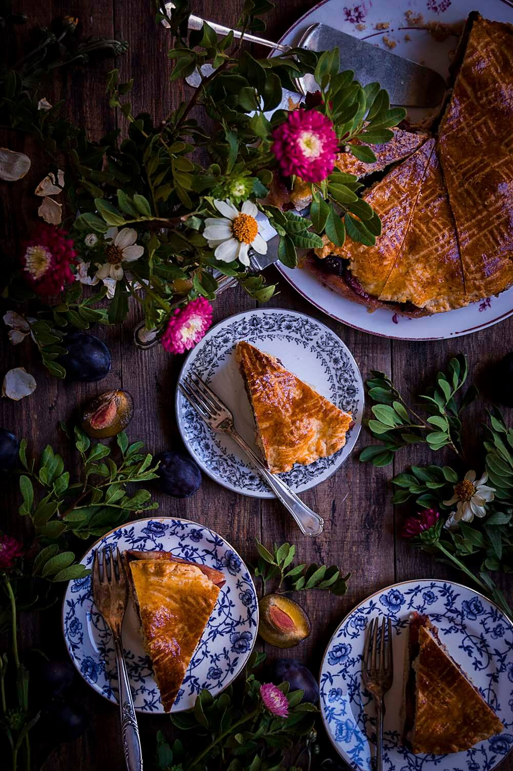tarta de ciruela