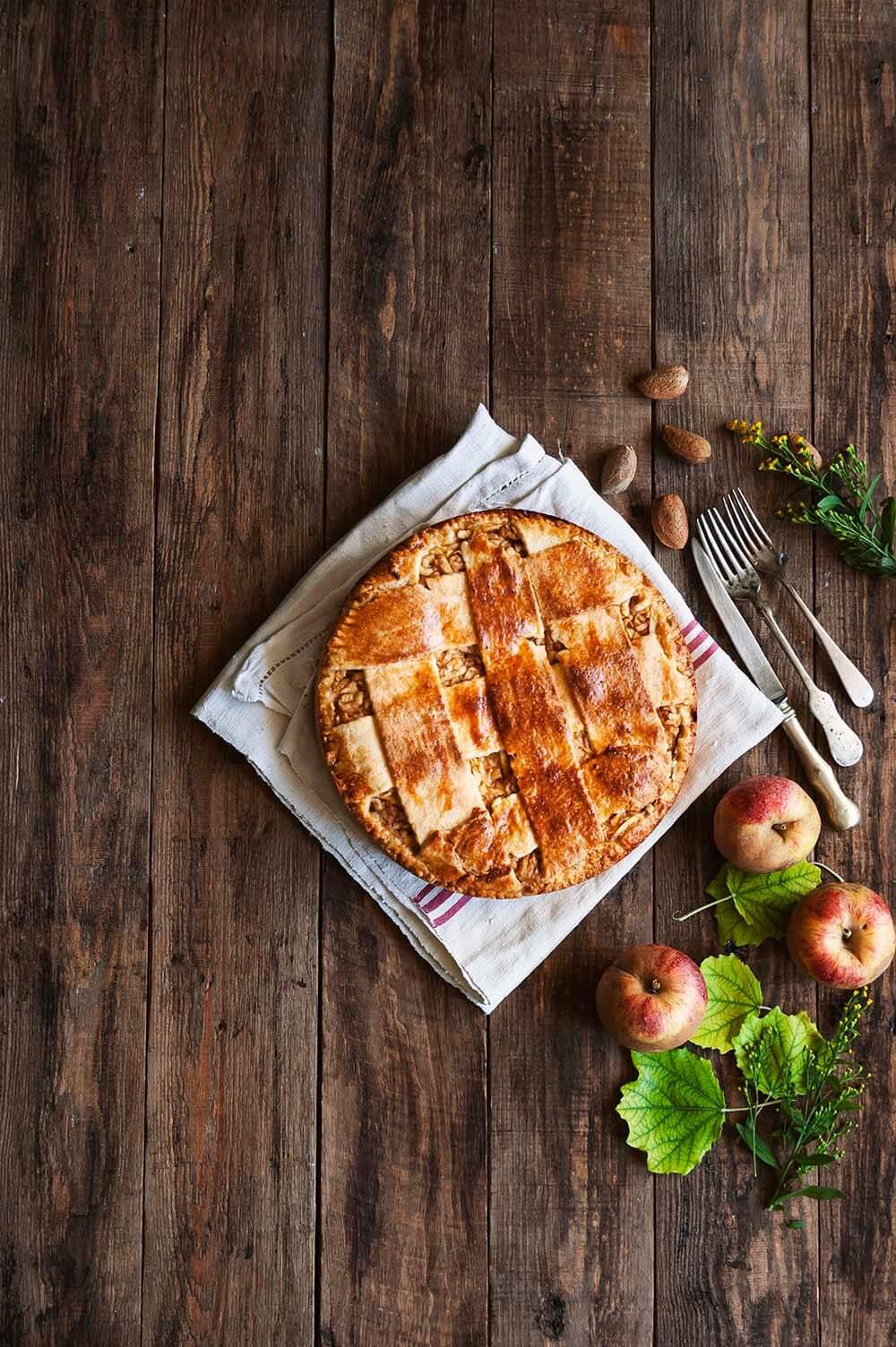 como hacer tarta de manzana