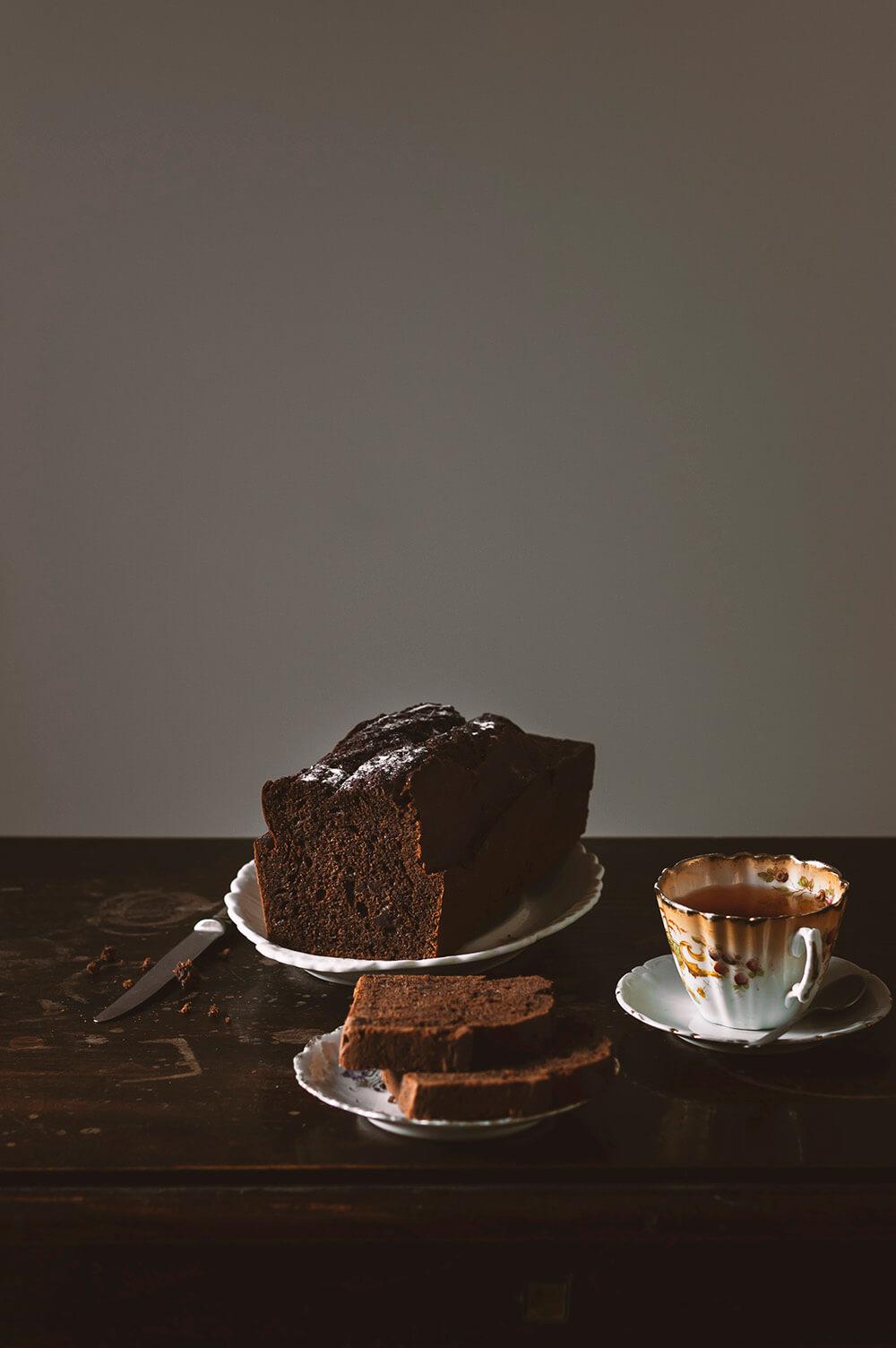 receta de plum cake de chocolate
