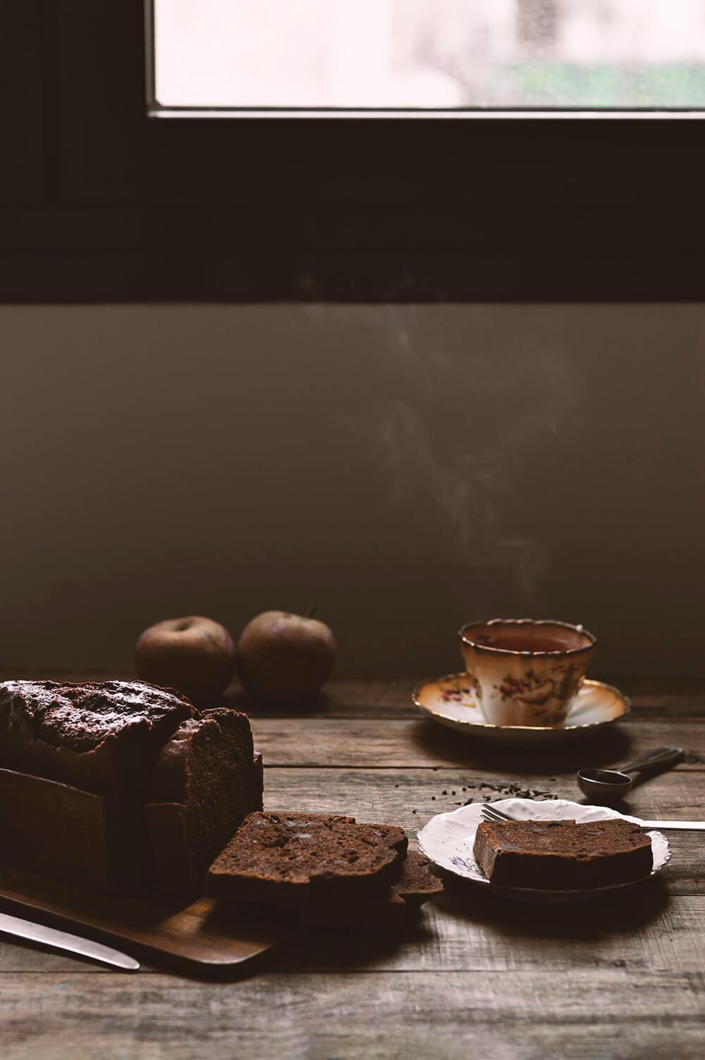 como hacer plum cake de chocolate