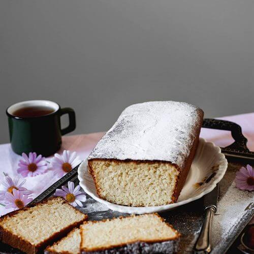Como hacer bizcocho de coco sin harina