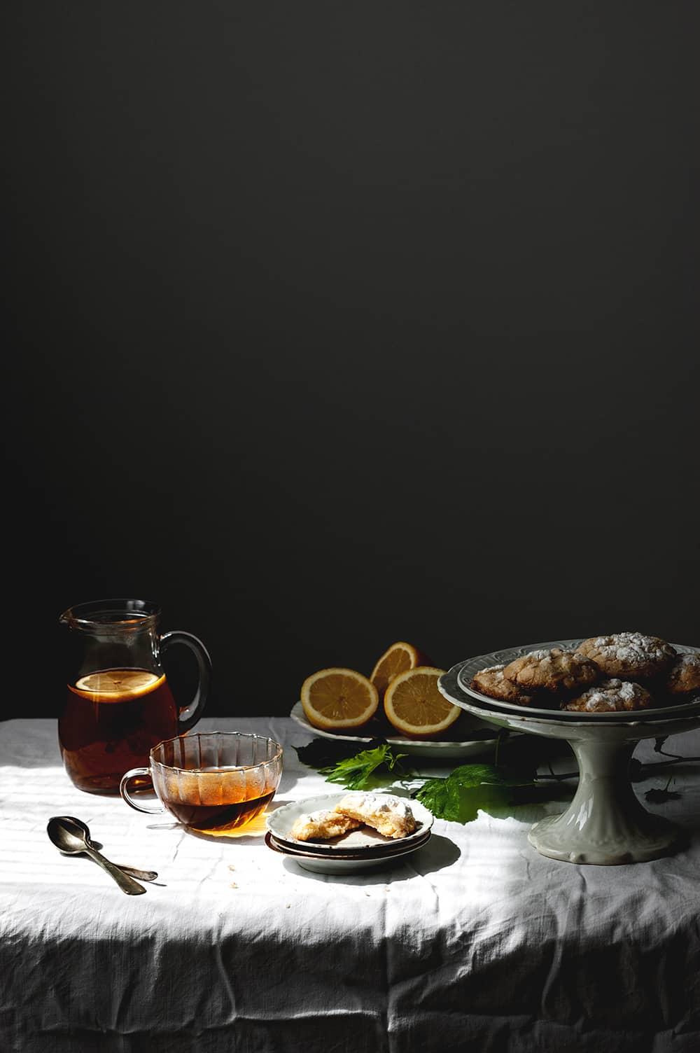 Receta de Galleta craquelada de limón