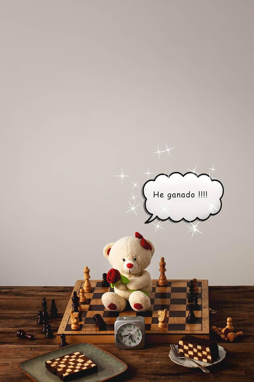 Bizcocho de ajedrez perfecto