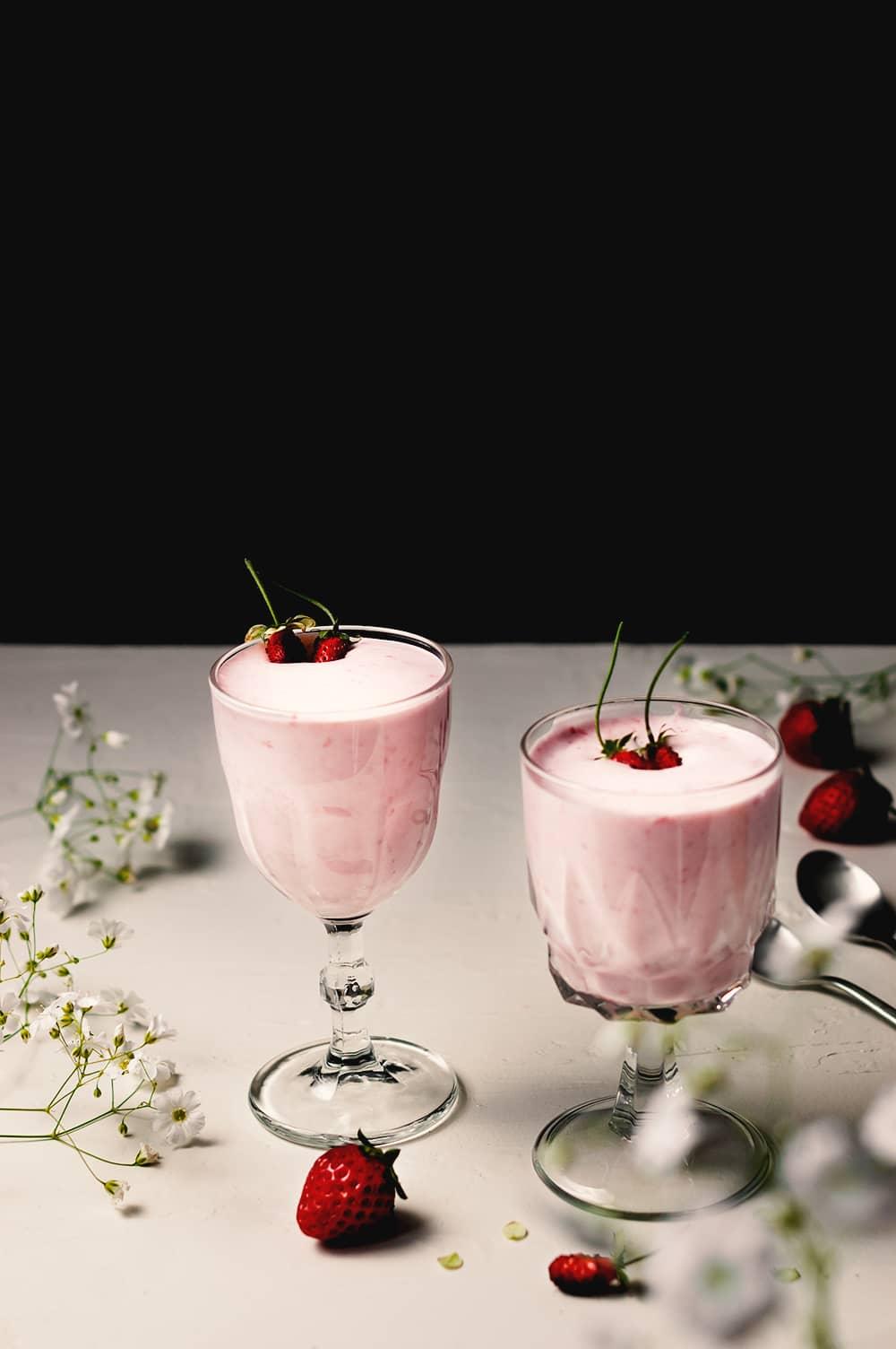 Receta de Espuma de fresas