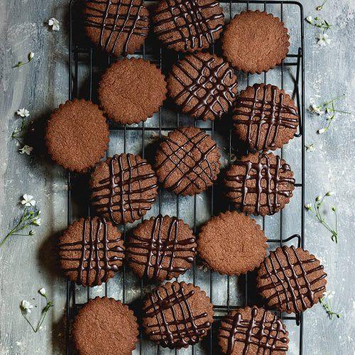 Galletas de chocolate con canela